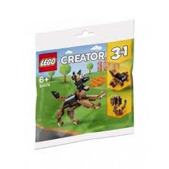 ΣΑΚΟΥΛΑΚΙ ΤΟΥΒΛΑΚΙΑ LEGO 30578 German Shepherd