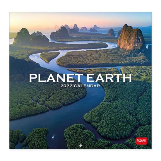 ΚΡΕΜΑΣΤΟ ΗΜΕΡΟΛΟΓΙΟ LEGAMI CAL22015 CALENDAR 2022 - 30X29CM PLANET EARTH